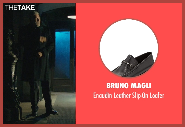 Bruno Magli black loafer from John Wick seen with Kevin Nash (Francis)