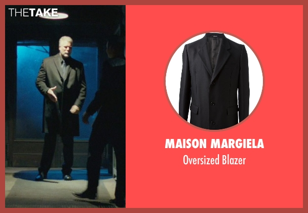 Maison Margiela gray blazer from John Wick seen with Kevin Nash (Francis)