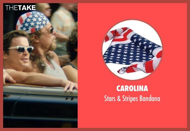 Carolina bandana from Magic Mike XXL seen with Kevin Nash (Tarzan)