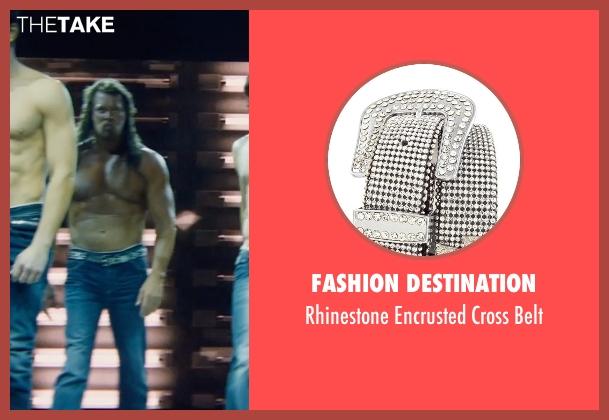 Fashion Destination black belt from Magic Mike XXL seen with Kevin Nash (Tarzan)