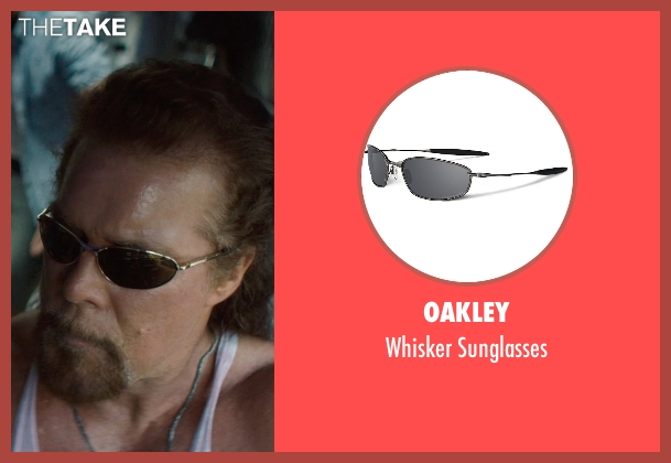 Oakley black sunglasses from Magic Mike XXL seen with Kevin Nash (Tarzan)