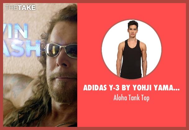 Adidas Y-3 By Yohji Yamamoto black top from Magic Mike XXL seen with Kevin Nash (Tarzan)