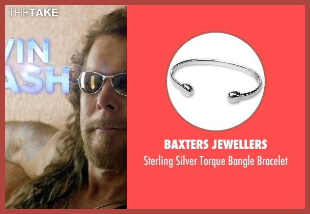 Baxters Jewellers silver bracelet from Magic Mike XXL seen with Kevin Nash (Tarzan)