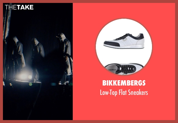 Bikkembergs white sneakers from Magic Mike XXL seen with Kevin Nash (Tarzan)