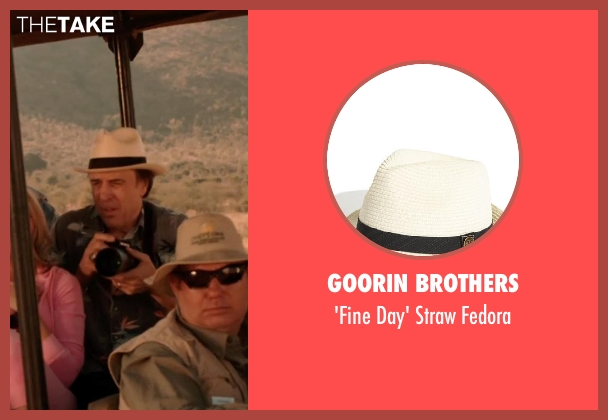 Goorin Brothers fedora from Blended seen with Kevin Nealon (Eddy)