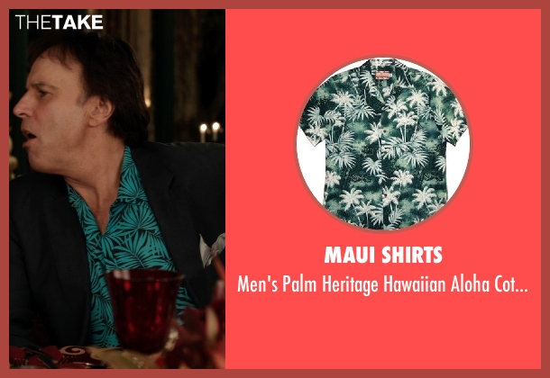 Maui Shirts green shirt from Blended seen with Kevin Nealon (Eddy)