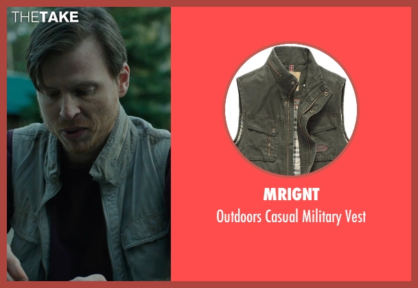 Mrignt green vest from Wild seen with Kevin Rankin (Greg)