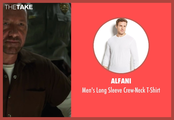 Alfani white t-shirt from Horrible Bosses 2 seen with Kevin Spacey (Dave Harken)