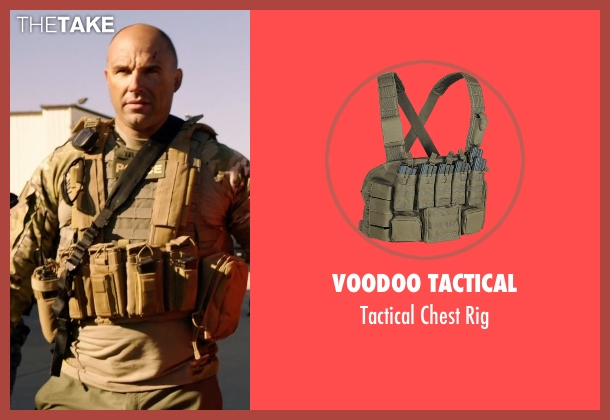 Voodoo Tactical rig from Sabotage seen with Kevin Vance (Bryce 'Tripod' McNeely)