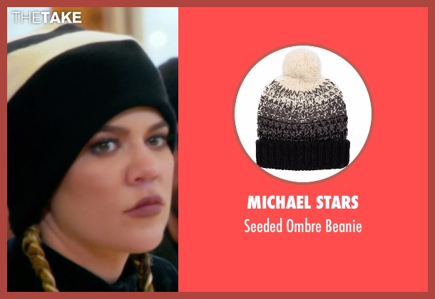 Michael Stars beanie from Keeping Up With The Kardashians seen with Khloe Kardashian
