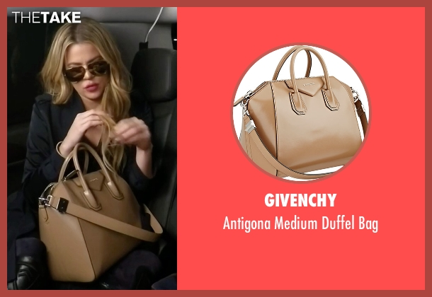 Givenchy beige bag from Keeping Up With The Kardashians seen with Khloe Kardashian