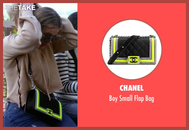 Chanel black bag from Keeping Up With The Kardashians seen with Khloe Kardashian