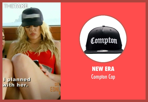 New Era black cap from Keeping Up With The Kardashians seen with Khloe Kardashian