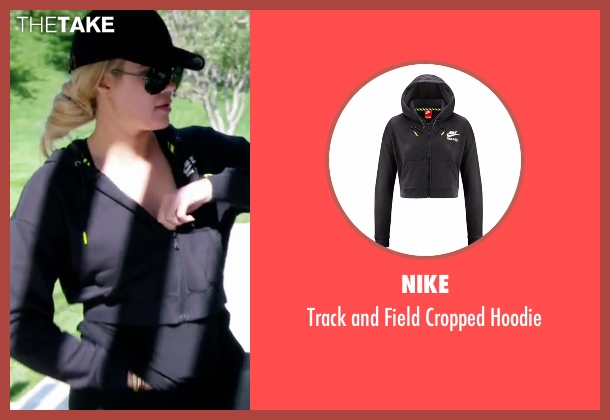 Nike  black hoodie from Keeping Up With The Kardashians seen with Khloe Kardashian