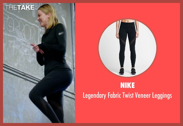 Nike black leggings from Keeping Up With The Kardashians seen with Khloe Kardashian