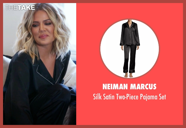 Neiman Marcus black set from Keeping Up With The Kardashians seen with Khloe Kardashian