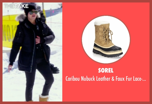 Sorel brown boots from Keeping Up With The Kardashians seen with Khloe Kardashian