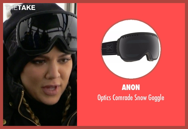 Anon goggle from Keeping Up With The Kardashians seen with Khloe Kardashian
