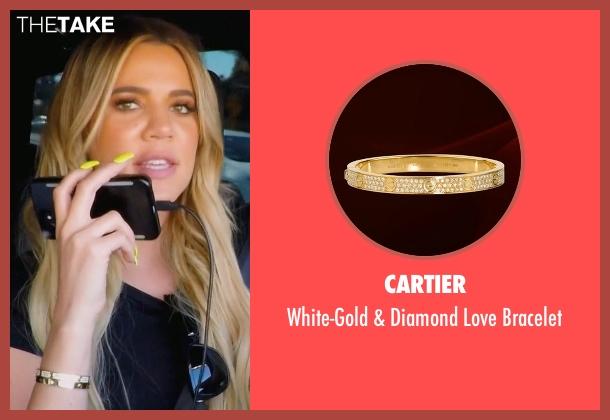 khloe kardashians gold cartier whitegold amp diamond love