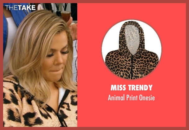 Miss Trendy onesie from Keeping Up With The Kardashians seen with Khloe Kardashian