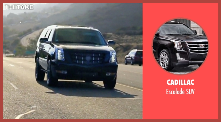 Cadillac suv from Keeping Up With The Kardashians seen with Khloe Kardashian