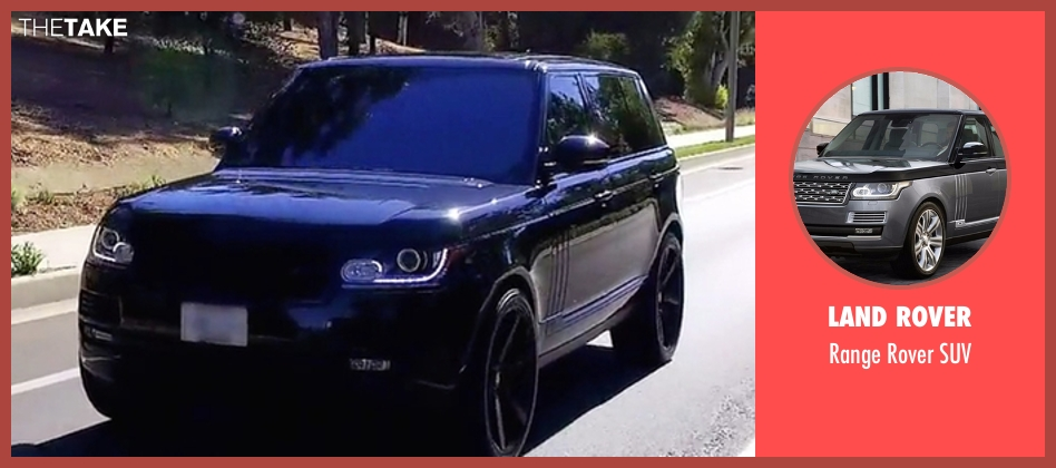 Land Rover suv from Keeping Up With The Kardashians seen with Khloe Kardashian