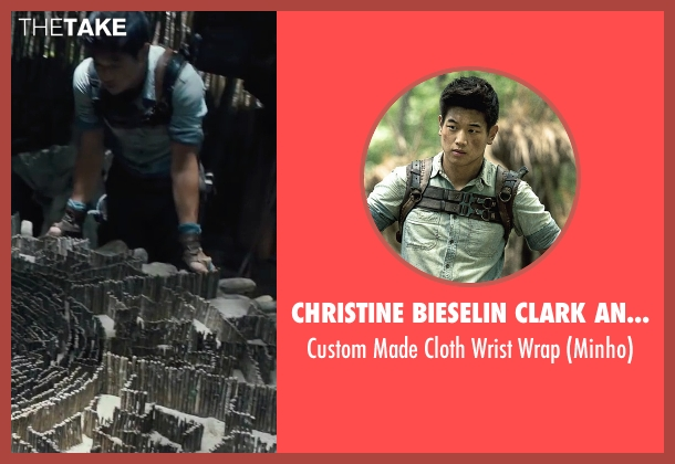 Christine Bieselin Clark and Simonetta Mariano (Costume Designers) wrap from The Maze Runner seen with Ki Hong Lee (Minho)