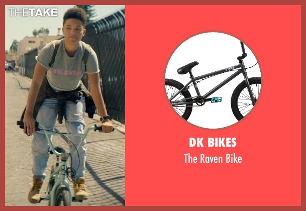 DK Bikes bike from Dope seen with Kiersey Clemons (Diggy)