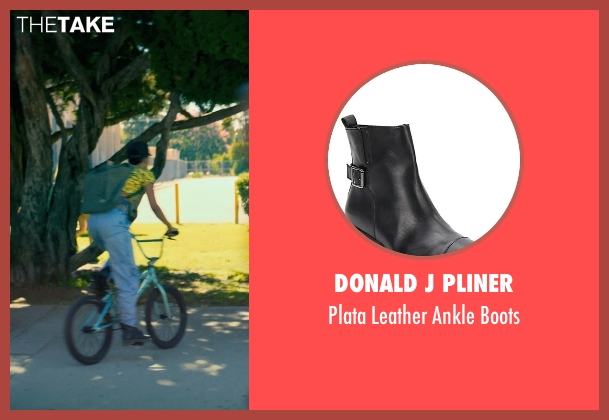 Donald J Pliner black boots from Dope seen with Kiersey Clemons (Diggy)