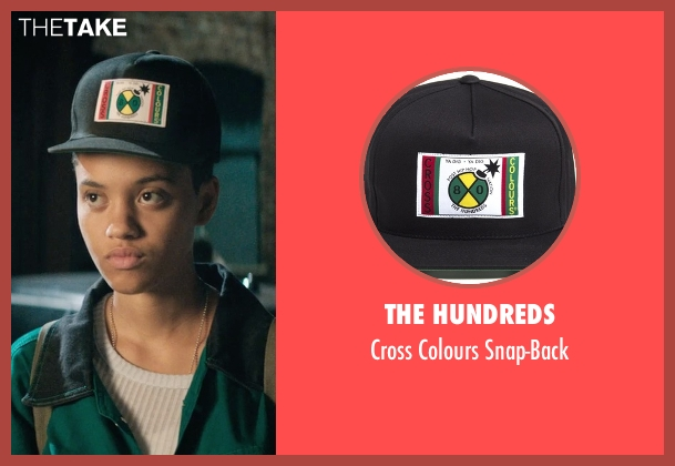The Hundreds black snap-back from Dope seen with Kiersey Clemons (Diggy)