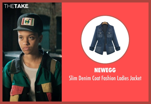 Newegg jacket from Dope seen with Kiersey Clemons (Diggy)