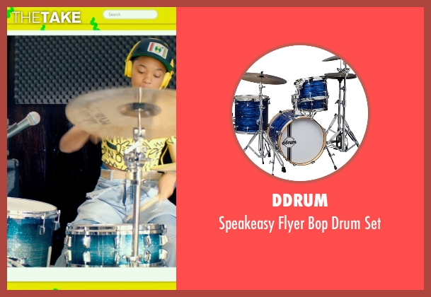 Ddrum set from Dope seen with Kiersey Clemons (Diggy)