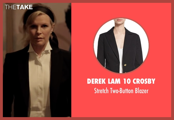 Derek Lam 10 Crosby black blazer from Fifty Shades Darker seen with Kim Basinger (Elena Lincoln)