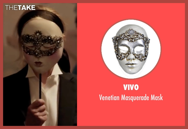 Vivo mask from Fifty Shades Darker seen with Kim Basinger (Elena Lincoln)