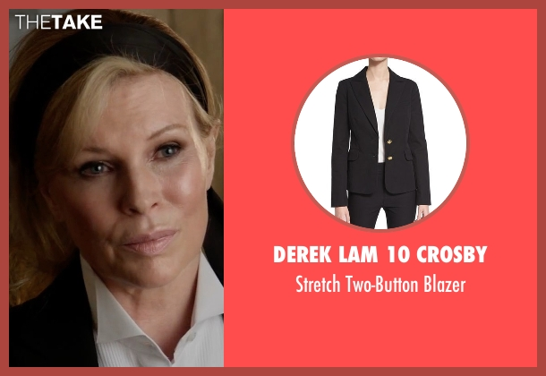 Derek Lam 10 Crosby black blazer from Fifty Shades Darker seen with Kim Basinger (Elena Lincoln)