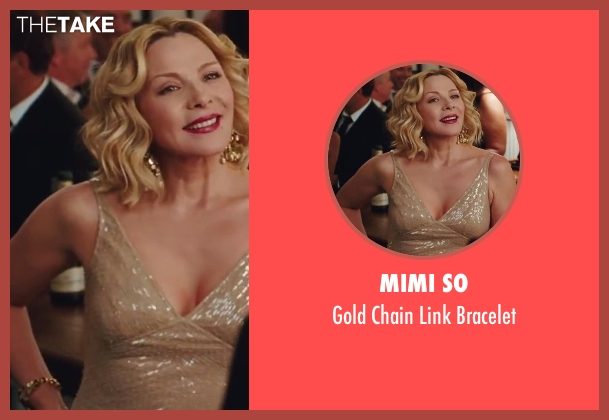 Mimi So gold bracelet from Sex and the City 2 seen with Kim Cattrall (Samantha Jones)