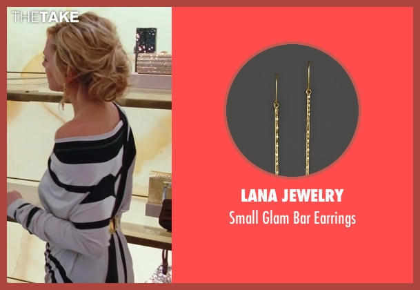 Lana Jewelry gold earrings from Sex and the City 2 seen with Kim Cattrall (Samantha Jones)