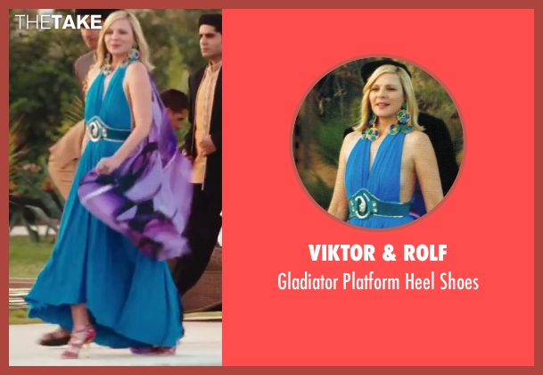 Viktor & Rolf purple shoes from Sex and the City 2 seen with Kim Cattrall (Samantha Jones)