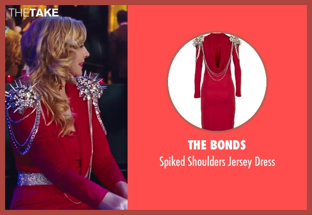 The Bonds red dress from Sex and the City 2 seen with Kim Cattrall (Samantha Jones)