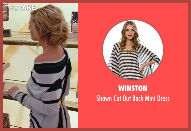 Winston white dress from Sex and the City 2 seen with Kim Cattrall (Samantha Jones)