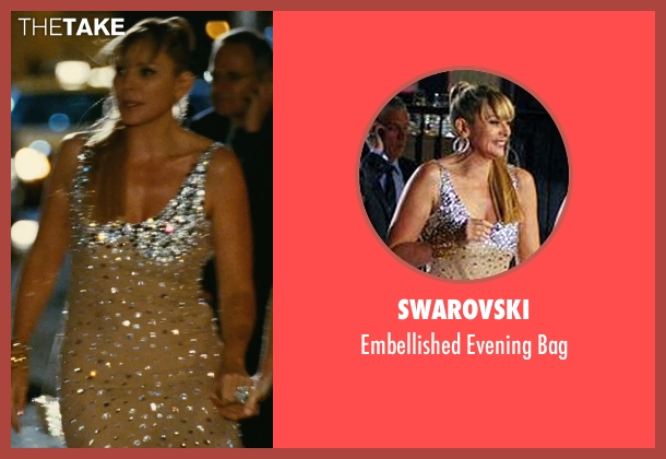 Swarovski silver bag from Sex and the City seen with Kim Cattrall (Samantha Jones)