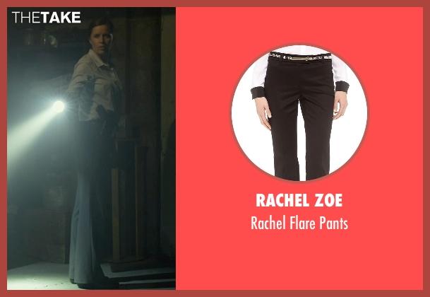 Rachel Zoe black pants from Gone Girl seen with Kim Dickens (Detective Rhonda Boney)