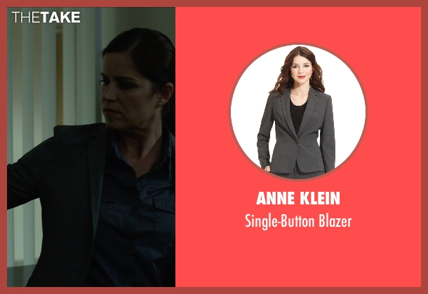 Anne Klein gray blazer from Gone Girl seen with Kim Dickens (Detective Rhonda Boney)