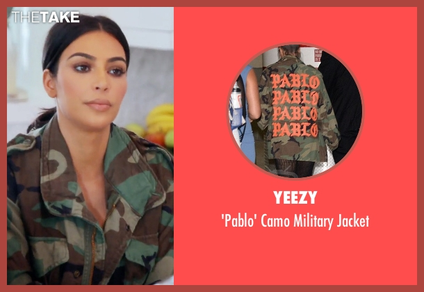 Yeezy  jacket from Keeping Up With The Kardashians seen with Kim Kardashian West