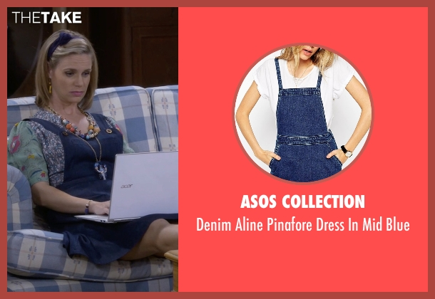 Asos Collection blue blue from Fuller House seen with Kimmy Gibbler (Andrea Barber)