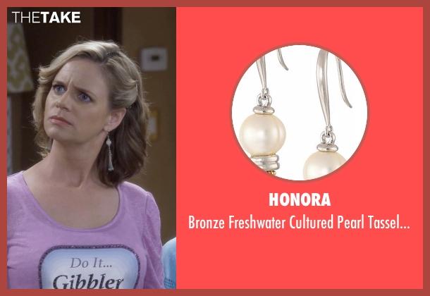 Honora  earrings from Fuller House seen with Kimmy Gibbler (Andrea Barber)