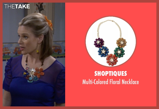 Shoptiques necklace from Fuller House seen with Kimmy Gibbler (Andrea Barber)
