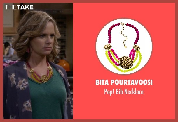 Bita Pourtavoosi necklace from Fuller House seen with Kimmy Gibbler (Andrea Barber)