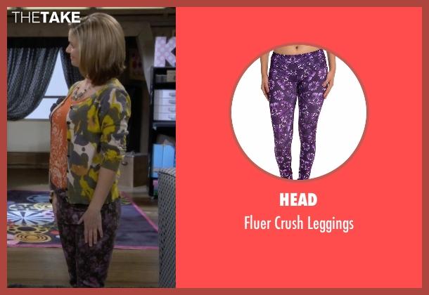 Head purple leggings from Fuller House seen with Kimmy Gibbler (Andrea Barber)
