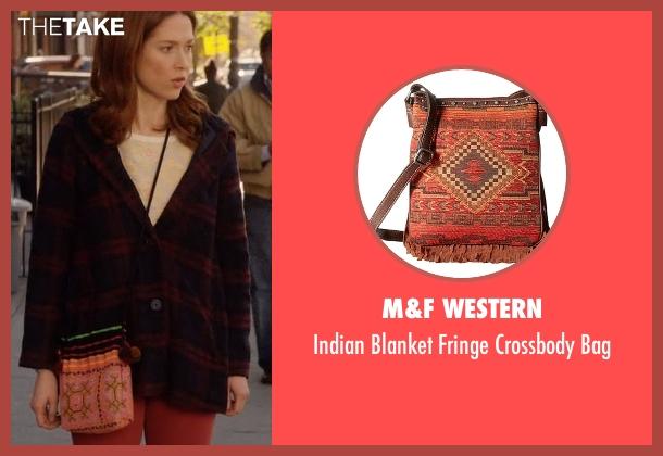 M&F Western  bag from Unbreakable Kimmy Schmidt seen with Kimmy Schmidt (Ellie Kemper)